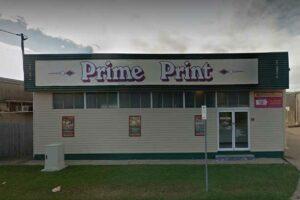 Prime Print shopfront, a solar Townsville customer