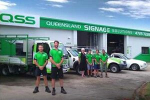 Queensland Sinage Solutions shop front, a solar Townsville customer